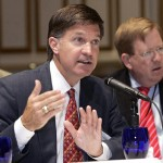 As Chair of their Energy Committee, Will Wynn presents his slate of Resolutions to the full body of the U.S. Conference of Mayors at their annual business meeting.