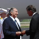 Will Wynn welcomes His Highness the Aga Khan to Austin.