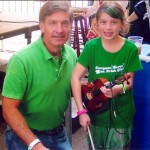 "You're never too young to perform in the ""Live Music Capital of the World"" - especially if you're with Austin's Irish mayor on St. Patrick's Day"