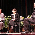 Will Wynn moderates a PBS series on global climate change with guests New Yorker journalist Elizabeth Kolbert and Australian scientist Tim Flannery.