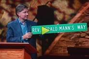 Reverend Dr. Gerald Mann tribute.